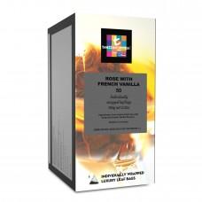 Dilmah帝瑪 t系列 法式香草玫瑰茶( 三角立體包 50入/盒 )