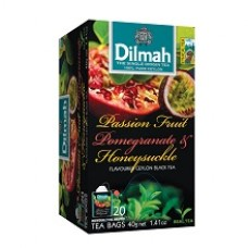 Dilmah帝瑪-百香果石榴紅茶(20入/12盒/箱)