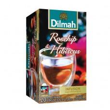 Dilmah帝瑪 天然玫瑰果茶-無咖啡因(20入/盒)