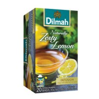 Dilmah帝瑪 天然檸檬茶-無咖啡因 (20入/盒)