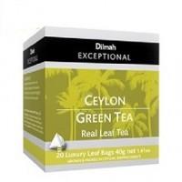 Dilmah帝瑪 錫蘭綠茶(三角立體茶包 20入/盒 )